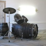 Wine Barrel Drum Set