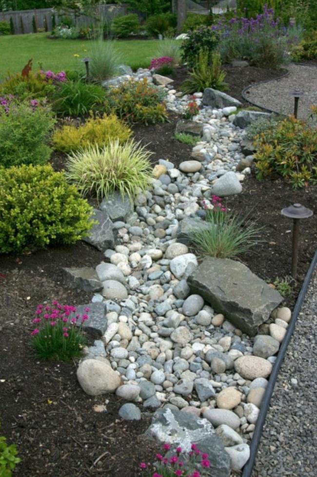 Beautiful Rock Garden Idea