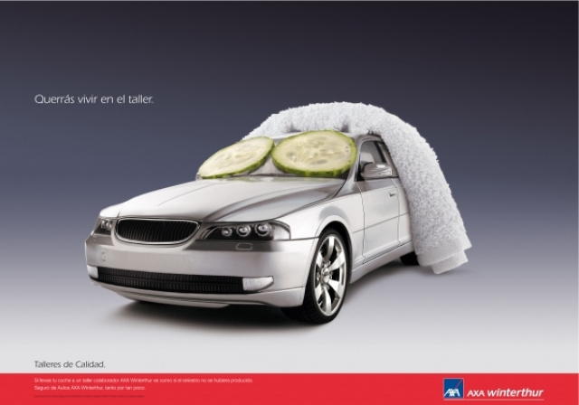 Axa Car Insurance Ad 2