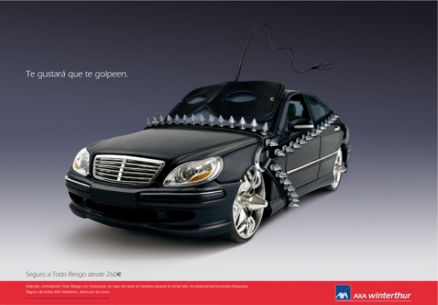 Axa Car Insurance Ad 3