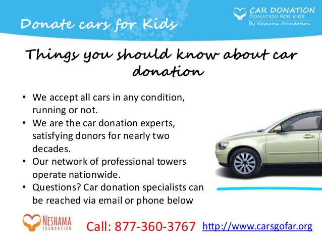 Car Donation For Kids