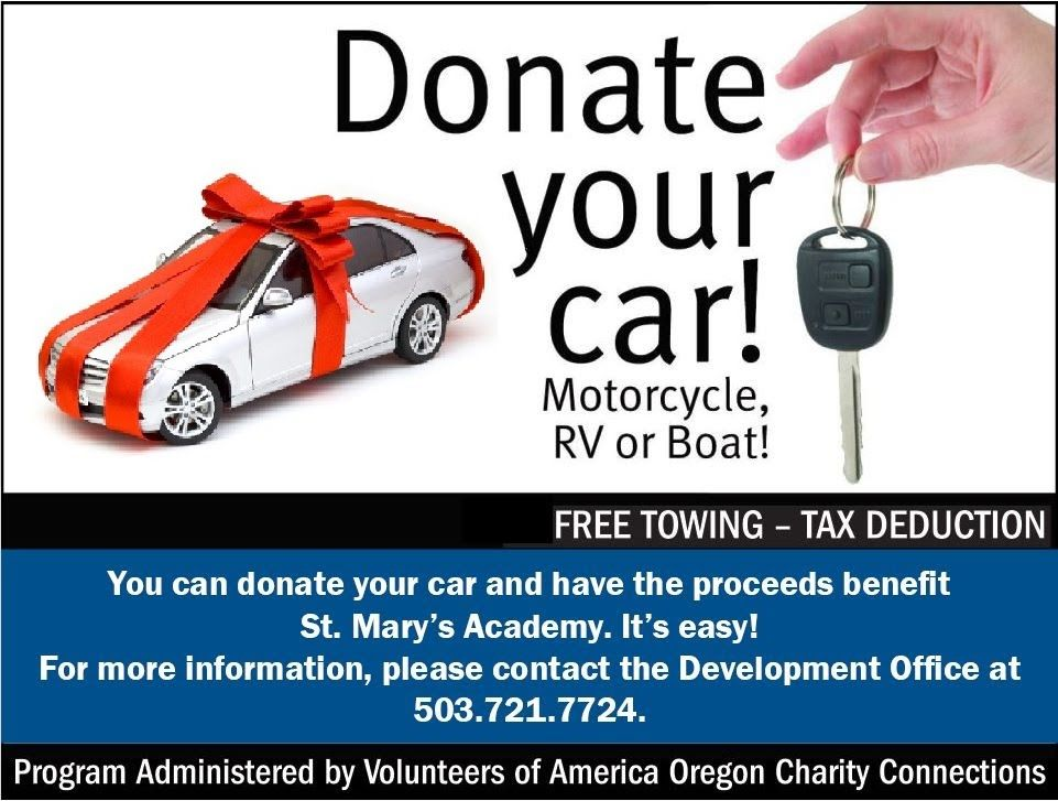 Donate A Car In Oregon