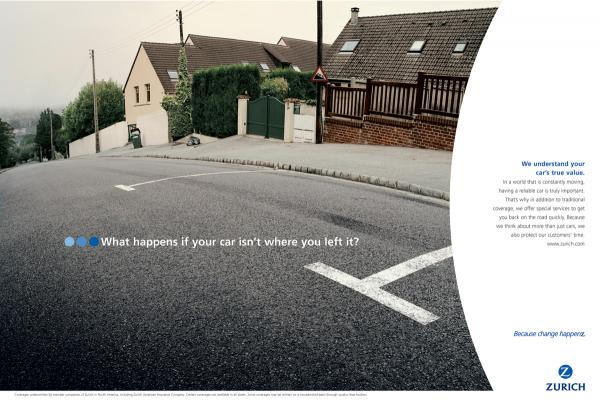 Zurich Car Insurance Ad 2
