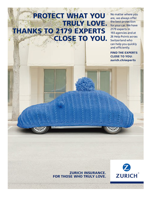 Zurich Car Insurance Ad