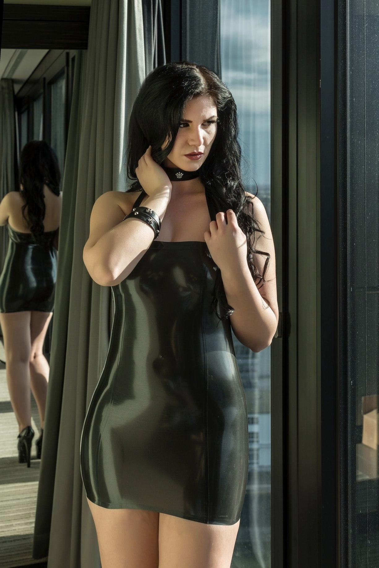 Kat Divine Latex Dress