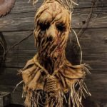 Halloween Scarecrow Mask Props