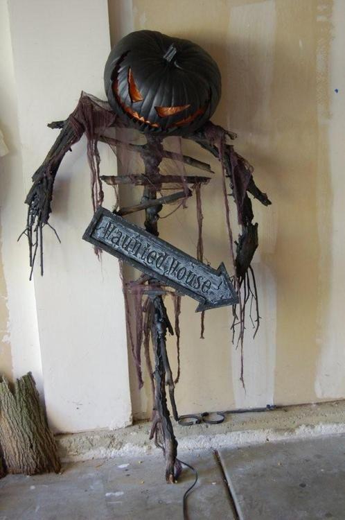 Jack O Lantern Halloween Props