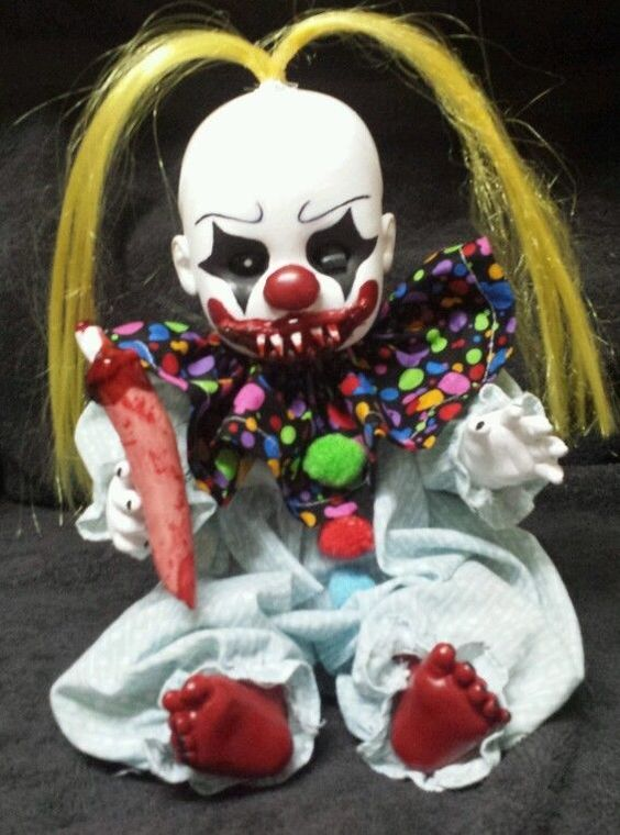 Zombie Baby Doll Haloween Props