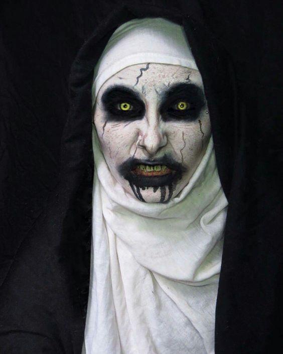 Anneliese Michel Halloween Makeup
