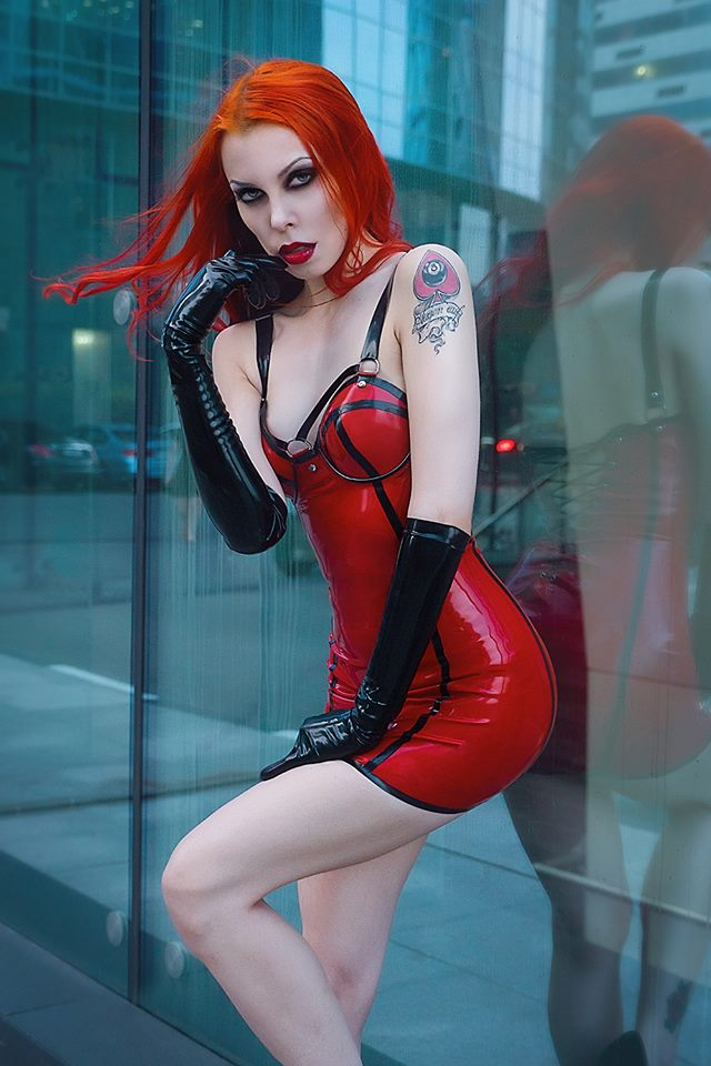 Annet Morningstar Perfect Latex Dress (2)