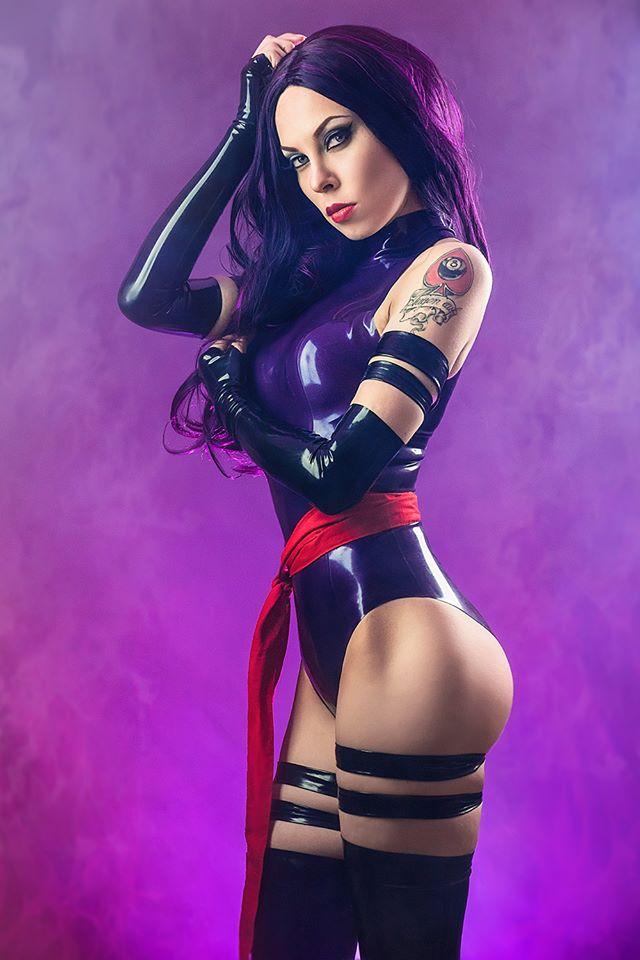 Annet Morningstar Psylocke Costume