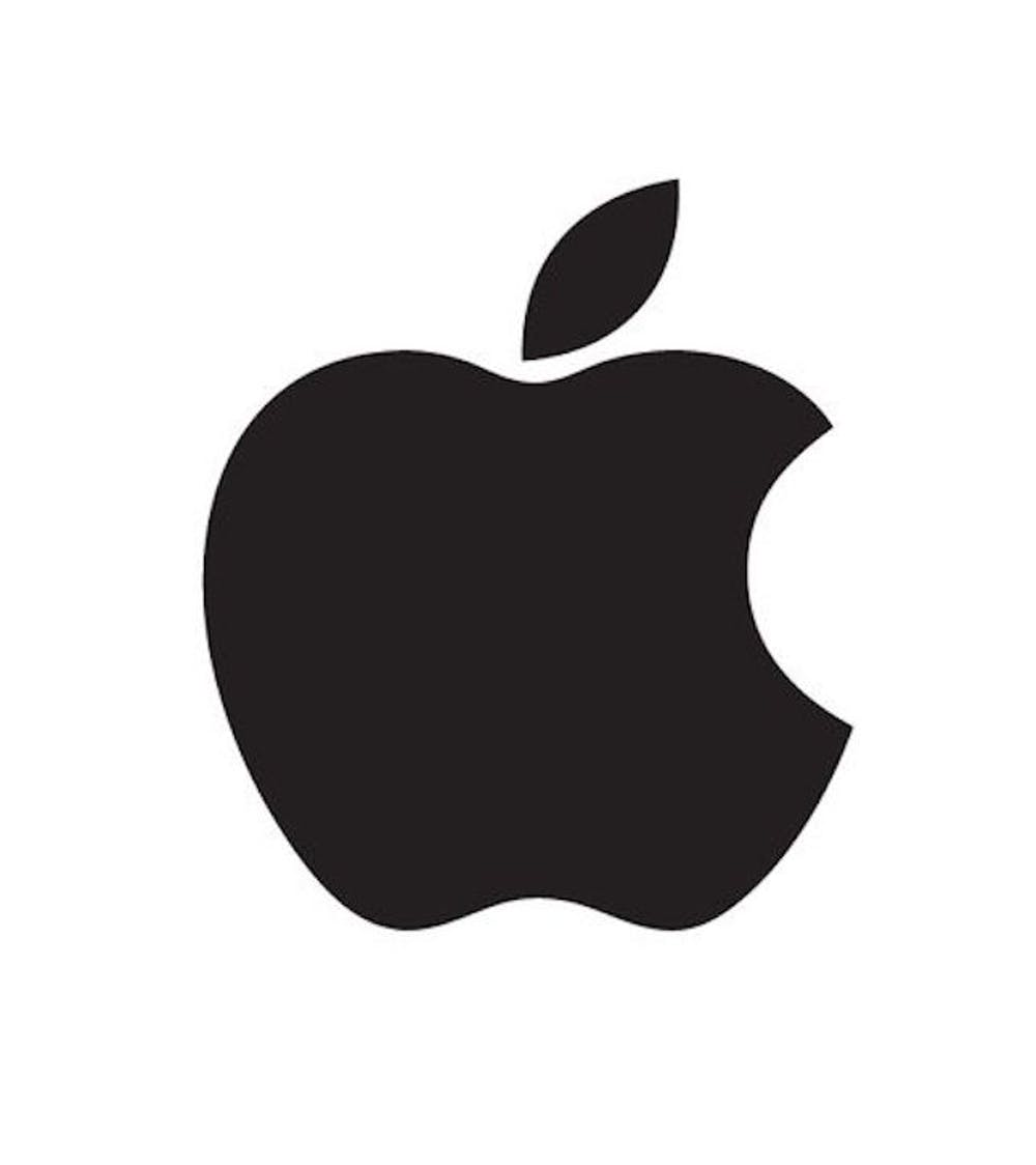 Apple Logo Pumpkin Carving Template