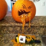 Drunk Pumpkin Idea