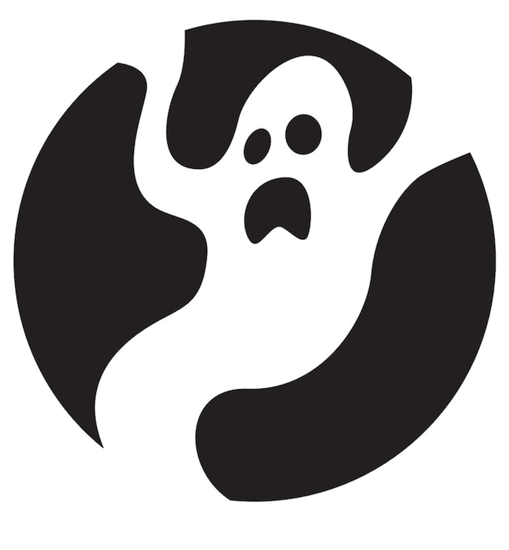 Easy Spooky Ghost Pumpkin Carving Template