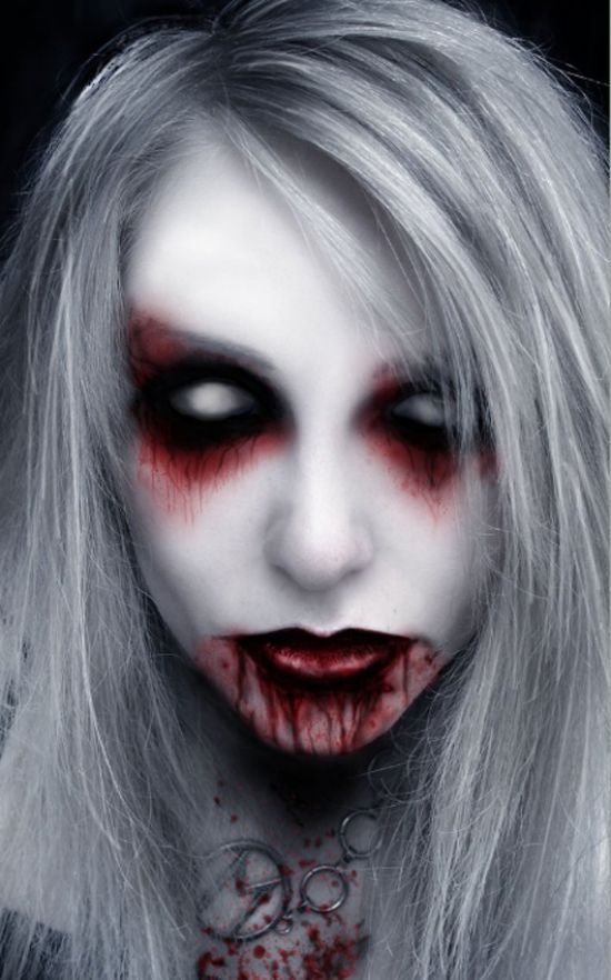 Haunted Women Makeup
