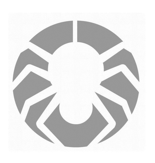 Simple Spider Pumpkin Carving Template