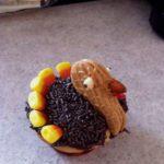 Cute Thanksgiving Turkey Cupcakes