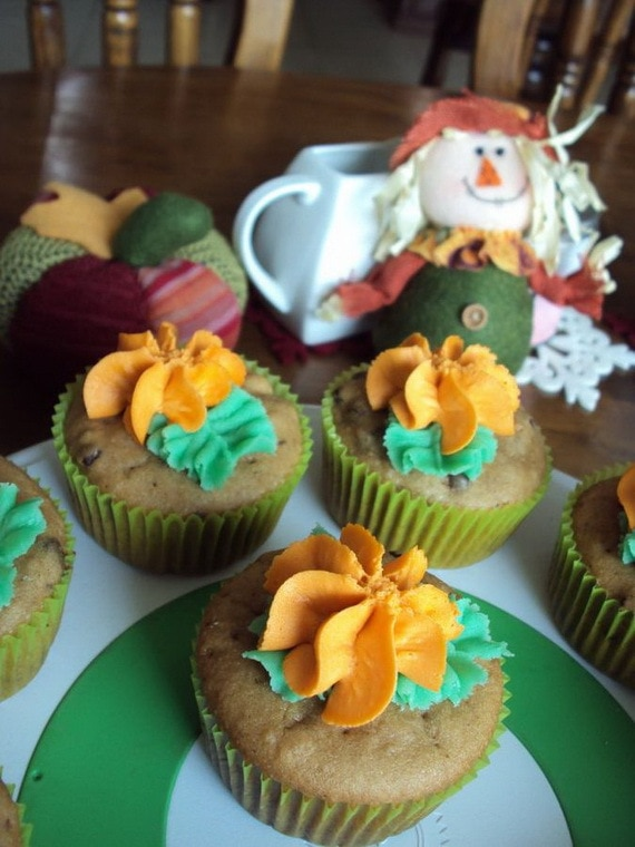 Thanksgiving Cupcake Idea