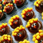 Thanksgiving Turkey Cupcakes Idea