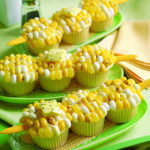 Thanksgiving Cupcake Corn Decoration