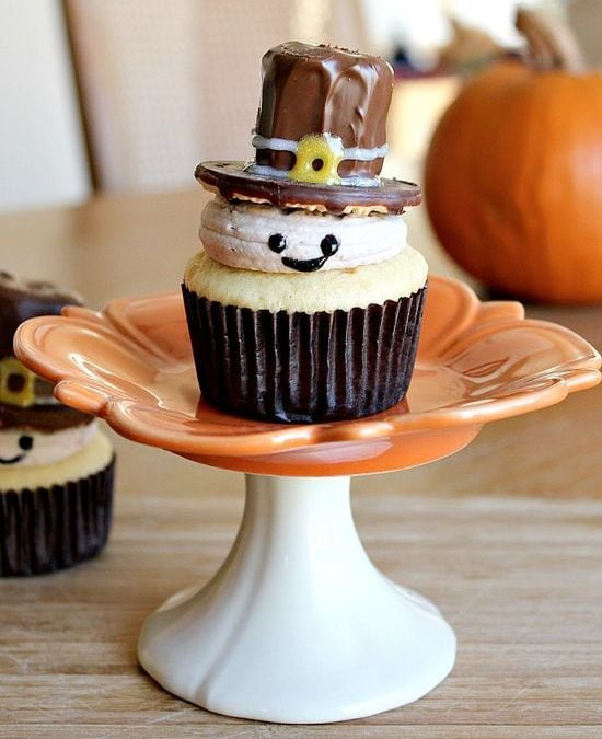 Thanksgiving Cupcake Decoration Idea