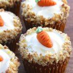 Carrot Cake Cupcakes Idea