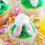 Easter Bunny Bottoms Cupcakes