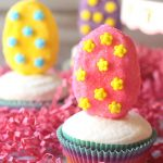 Marshmallow Easter Egg Cupcakes
