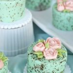 Mini Speckled Egg Cakes