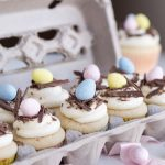 White Chocolate Egg Nests