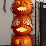 3 Pumpkins Decor