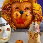 Alice In Wonderland Pumpkins