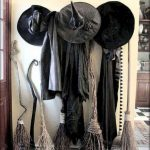 Black Witch Clothes Decoration
