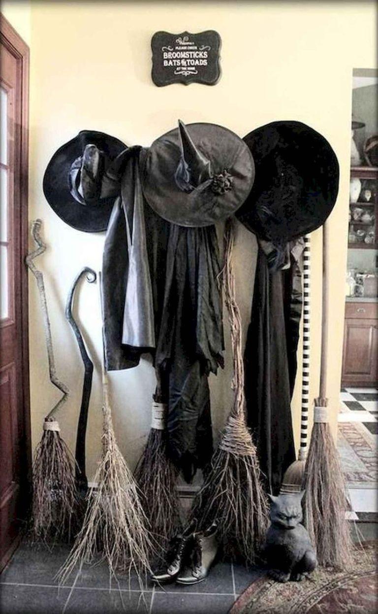 Black Witch Clothes Decoration