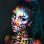 Colorful Halloween Makeup