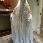 Creepy Halloween Bride Decoration