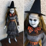 Creepy Halloween Doll 1