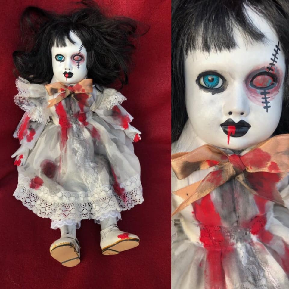 Creepy Halloween Doll 17