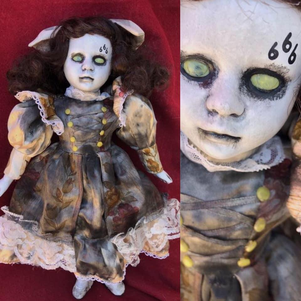 Creepy Halloween Doll 22