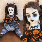 Creepy Halloween Doll 3