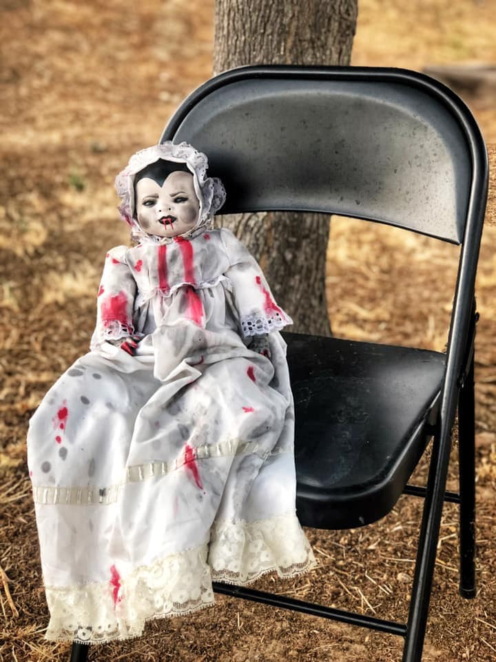 Creepy Halloween Doll 5
