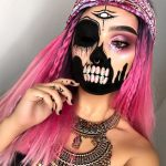 Creepy Pirate Halloween Makeup