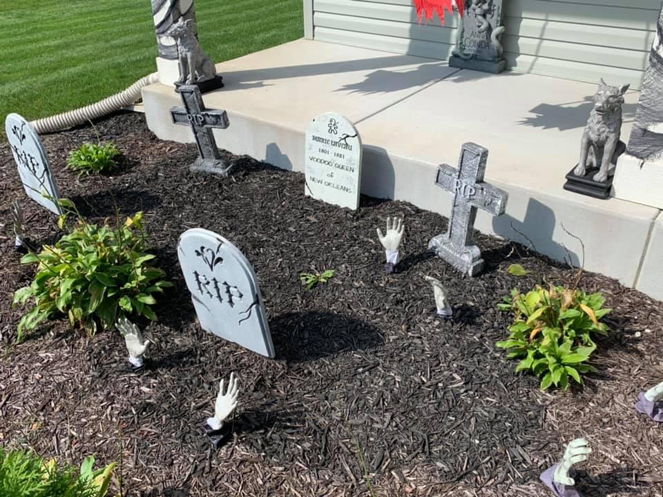Front Yard Halloween Decoration