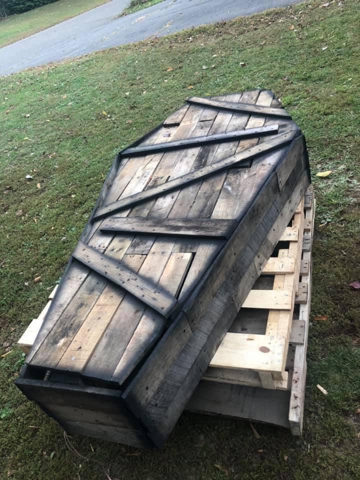 Halloween Coffin Props