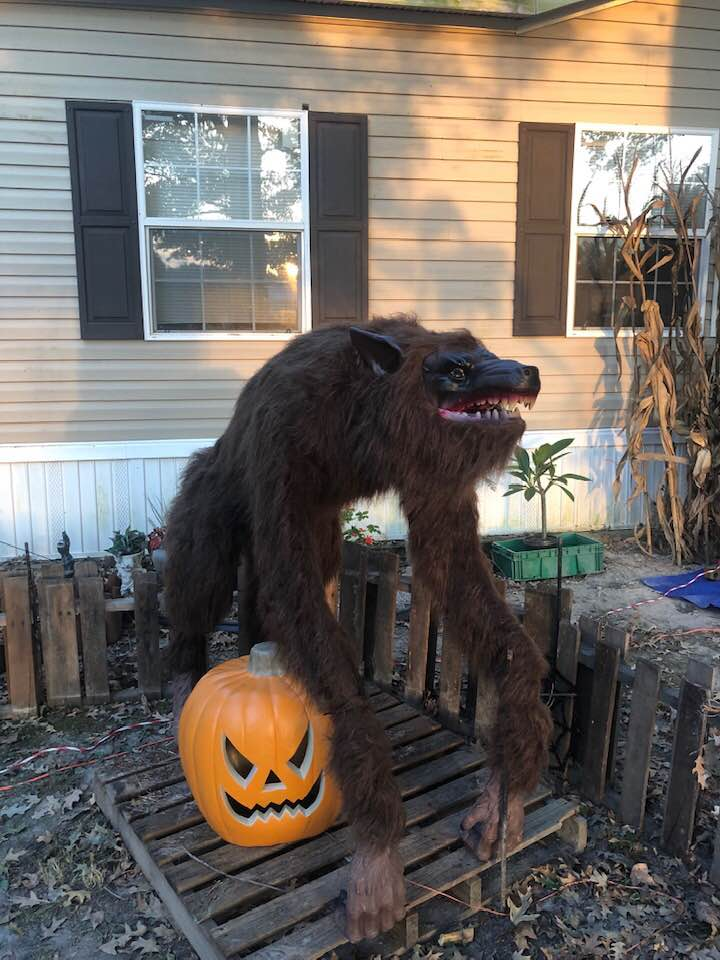 Halloween Decorations Werewolf