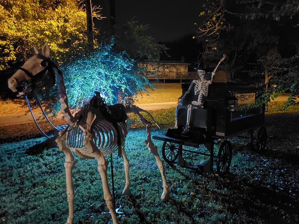 Halloween Yard Props