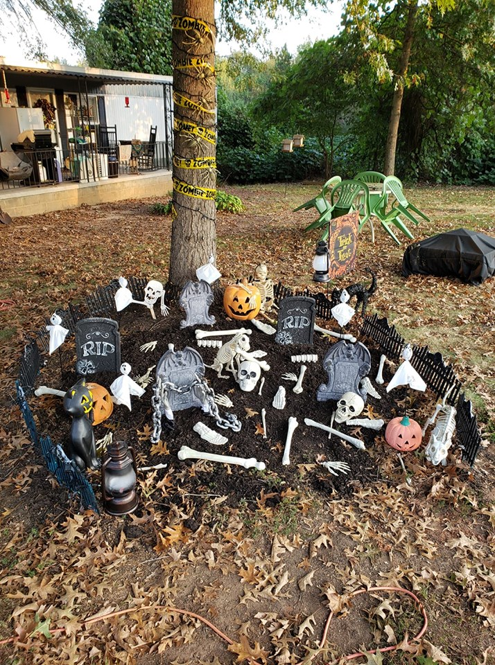 Halloween Backyard Decorations