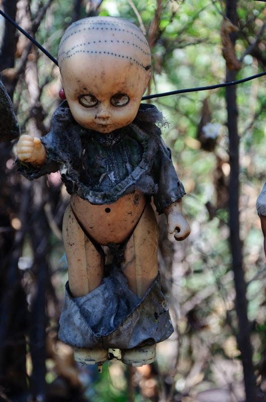 Halloween Prop Creepy Doll
