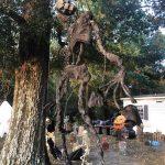 Halloween Props Hanging