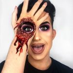 Hole In The Hand Halloween Makeup